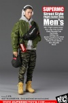 SUPERMC Street Style Flight Jacket Sets Men's